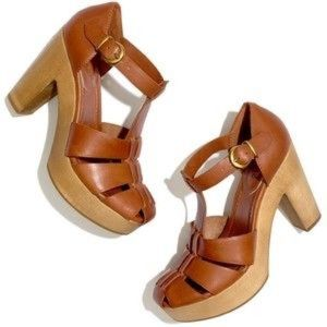 Madewell The High Road sandal size 7.5 clogs